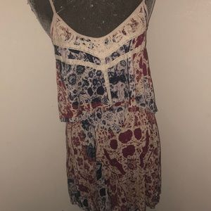 Patterned dress from urban outfitters